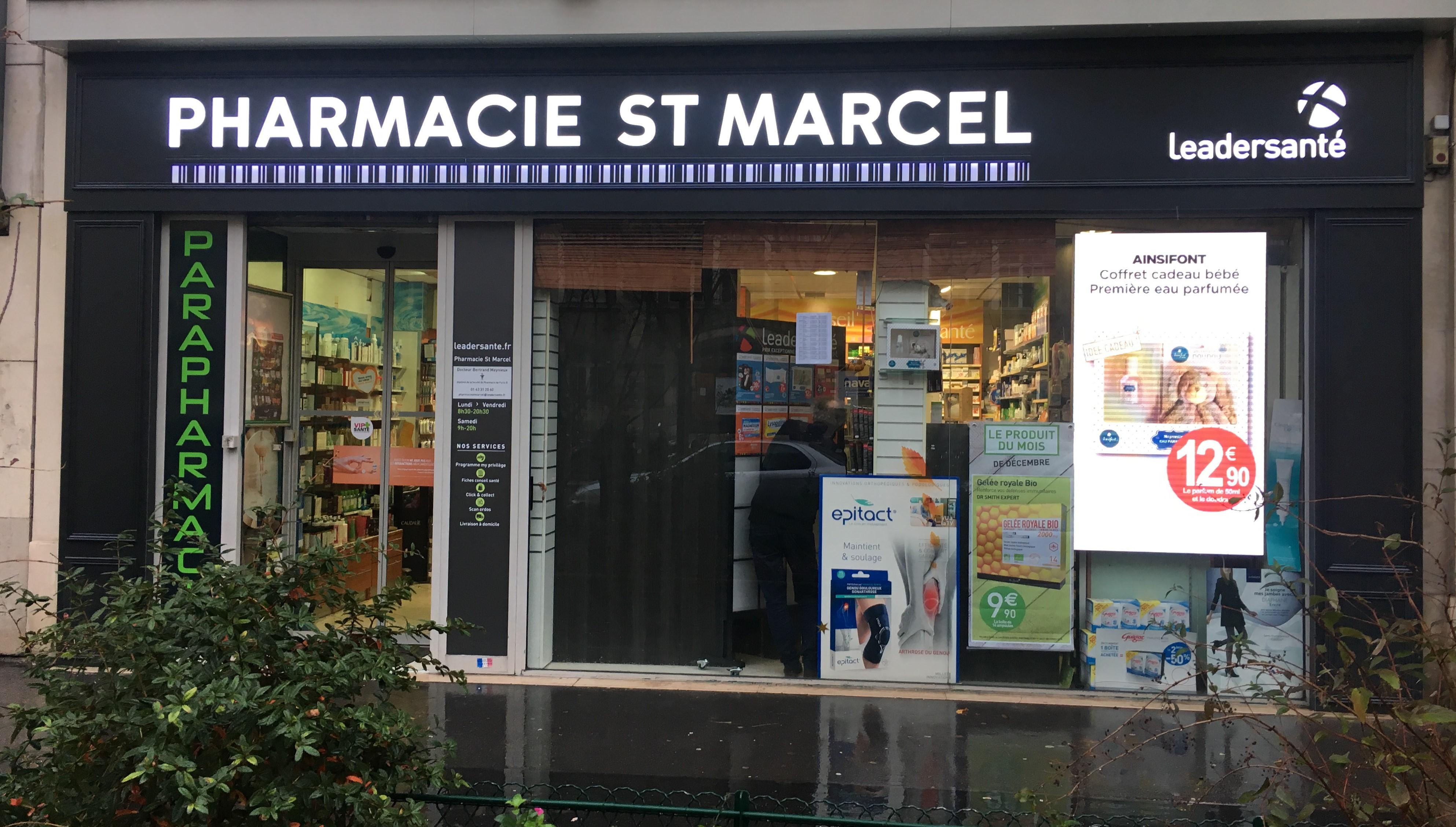 Pharmacie saint Marcel