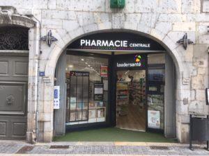 pharmacie centrale besançon