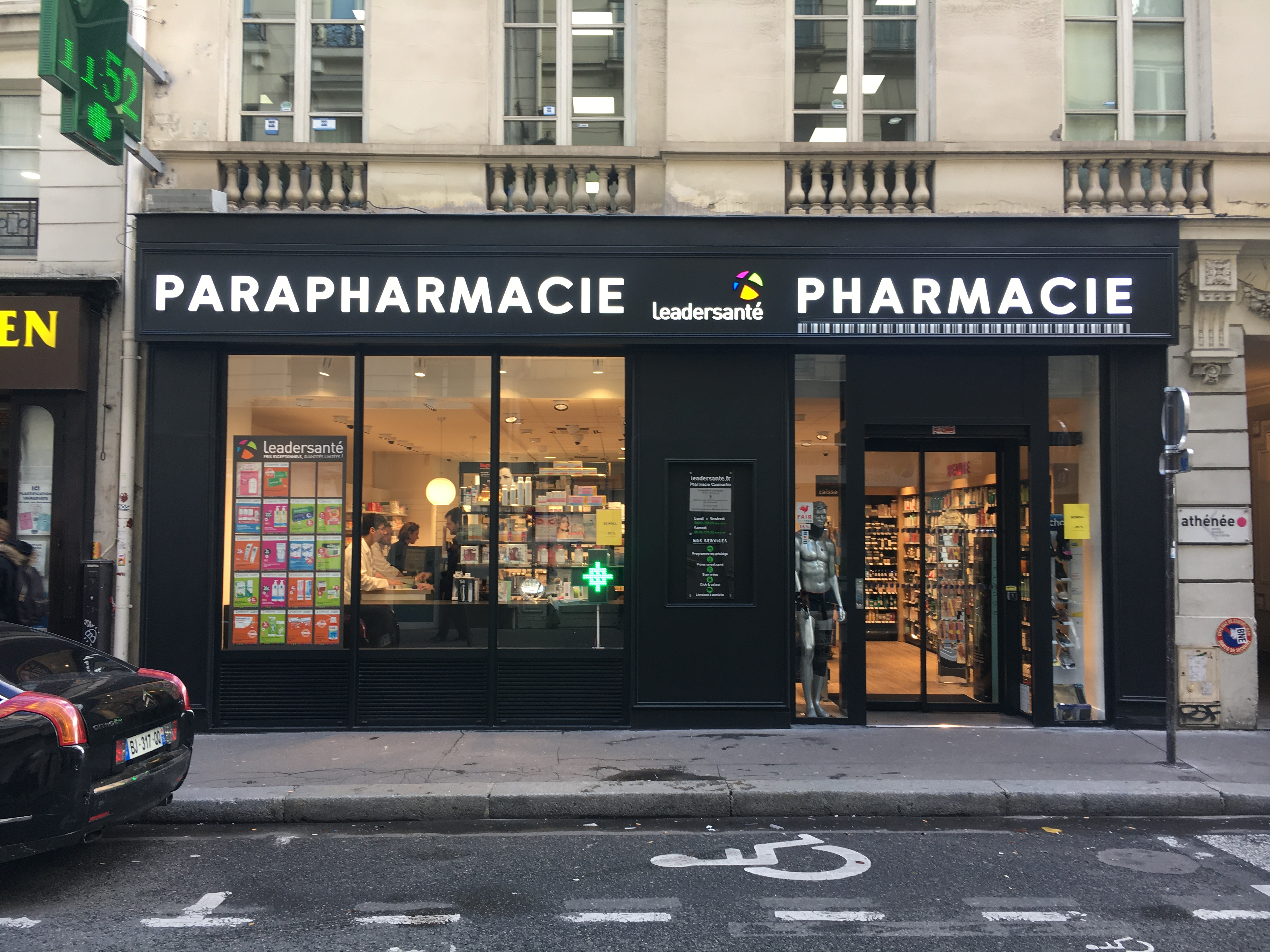 pharmacie caumartin